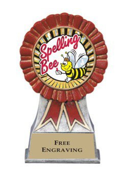 Red Ribbon Spelling Bee Award