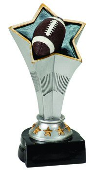 Rising Star Football Award Trophy