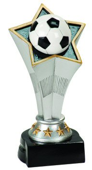 Rising Star Soccer Award Trophy