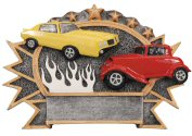 Car Show Three Dimensional Shield Plaque