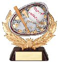 Baseball Full Colored Scene Trophy
