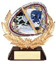 Hockey Full Colored Scene Trophy