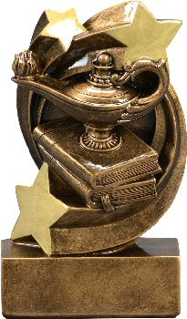 Star Swirl Academics Resin Trophy