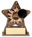Hockey Theme Starburst Resin Trophy