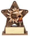 Victory Theme Starburst Resin Trophy