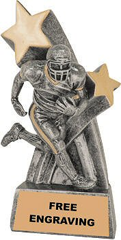 Football Super Star Resin Trophy