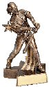 Softball Female Superstar Resin Trophy