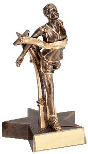 Runner Male Superstar Trophy