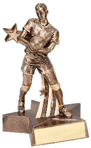 Volleyball Male Superstar Trophy