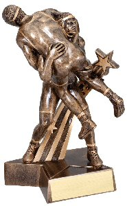 Wrestler Superstar Trophy