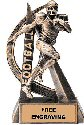 Ultra Action Football Resin Trophy