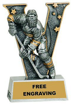 V Series Hockey Resin Award