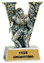 V Series Wrestling Resin Award