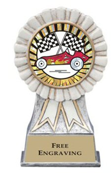 White Ribbon Pinewood Derby Award