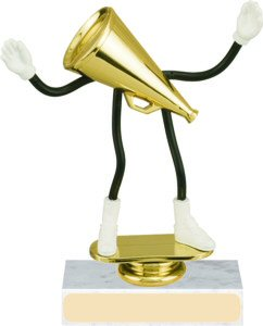 Cheerleading Bendable Trophy