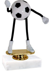 Soccer Bendable Trophy
