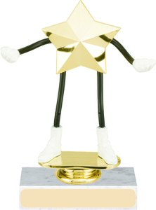 Star Bendable Trophy