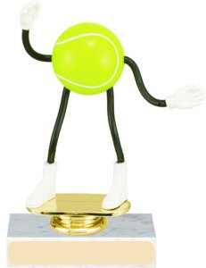 Tennis Bendable Trophy