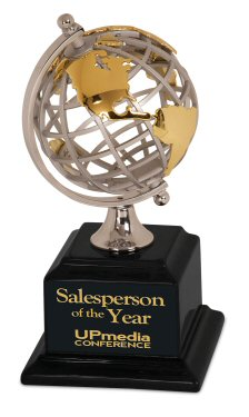 Gold and Silver Globe Executive Award