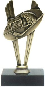 Hockey Theme Metal Trophy