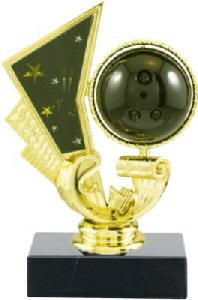 Spinning Bowling Ball Trophy