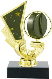 Spinning Hockey Puck Trophy