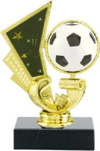 Spinning Soccer Ball Trophy