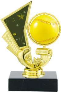 Spinning Softball Trophy