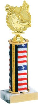 Flag Series Golf Trophy