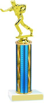 Prism Hologram Flag Football Trophy