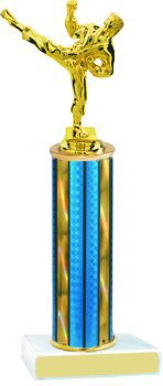 Prism Hologram Martial Arts Trophy