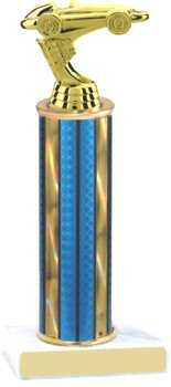 Prism Hologram Pinewood Derby Trophy