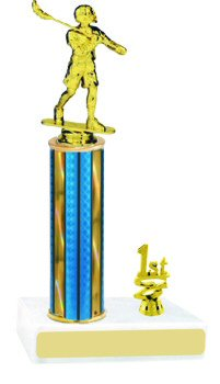 Prism Hologram Lacrosse Trophy with Trim