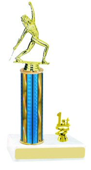 Prism Baton Twirler Trophy with Trim