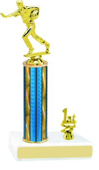 Prism Flag Football Trophy with Trim
