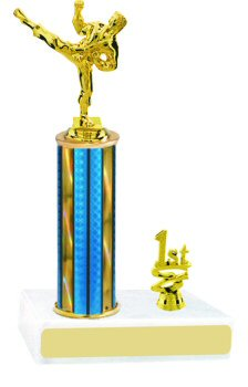Prism Karate Trophy with Trim