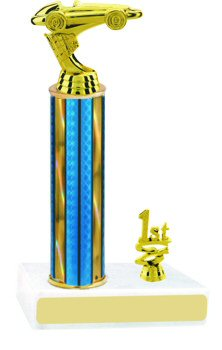 Pinewood Derby Trophy with Trim