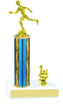 Prism Running Track Trophy with Trim