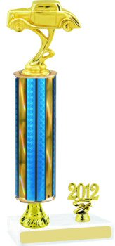 Prism Car Show Trophy with Pedestal and Trim