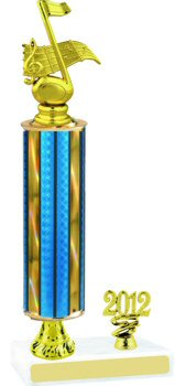 Prism Music Trophy with Pedestal and Trim