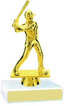 Baseball Figure on a Base Trophy