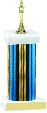 Prism Wide Column Chess Trophy
