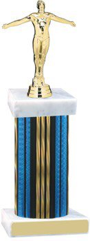Prism Wide Column Diving Trophy