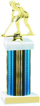 Prism Wide Column Field Hockey Trophy
