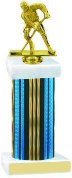 Prism Wide Column Hockey Trophy