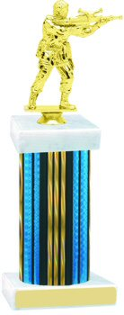 Prism Wide Column Paintball Trophy