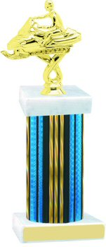 Prism Wide Column Snowmobile Trophy
