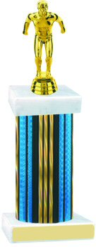 Prism Wide Column Swimming Trophy