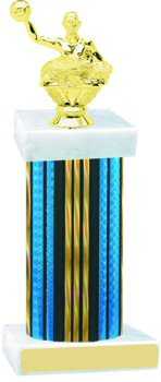 Prism Wide Column Water Polo Trophy