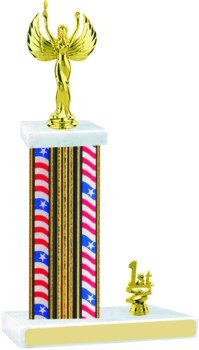 Flag Series Victory Trophy with Trim